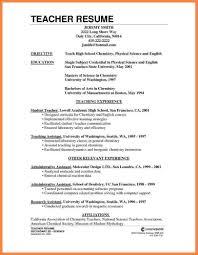 Resume For Teachers Resume For Teachers Cv Resume For Teachers How