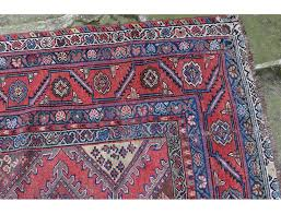 old carpet knotted persian iran signed antique twentieth century wool carpet