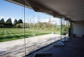 glass exterior doors view in gallery nearly frameless sliding folding doors to garden entertainment area