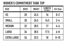 Womens Commitment Tank Top Shark Skin