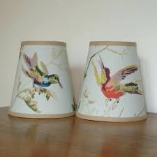 clip on lamp shade humming birds handmade candle clip lampshade for wall lights chandeliers clip lamp
