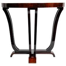 round console table. Art Deco Style Half-Round Console Table For Sale Round O