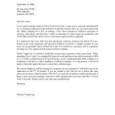Cover Letter Veterinary Medicine Milviamaglione Com