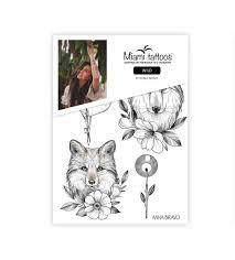 Miami Tattoos переводные тату Wild By Anna Bravo