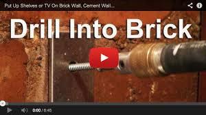 concrete walls diy wall mounted tv