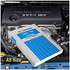 Amazon.com: Aftermarket Toyota 1KZ-TE Book Auto Engine Repair ...