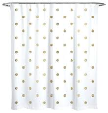 i see polka dots shower curtain dot black and white contemporary curtains