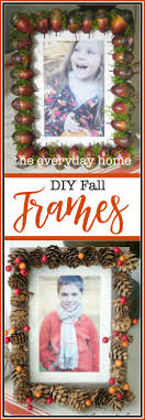 3 easy diy picture frames for fall the everyday home
