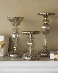 ... LED Mercury Glass Candle Holders Alt ...