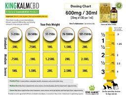 King Kalm Cbd Oil For Dogs Cats 600mg