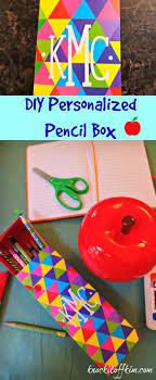 Decorate Pencil Case 17 Best Ideas About Personalized Pencil Boxes On Pinterest