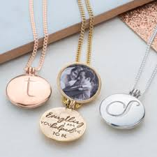 a truly personal and unique gift this is an initial locket with message