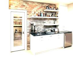 bar cabinet ideas wall floating shelves glass dry