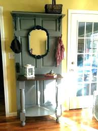 furniture made out of doors. Exellent Furniture Old Door Hall Tree Furniture Made From Doors Headboards Ideas  To Furniture Made Out Of Doors I