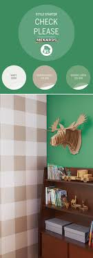 menards exterior house paint. add pattern to your walls! a buffalo check is an intriguing and unexpected design choice. we used dutch boy® platinum® paint, available at menards®. menards exterior house paint
