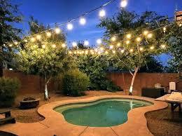 backyard string lights ideas outdoor string lighting ideas backyard string lights ideas best way to hang