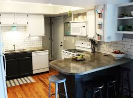 Diy Tile Backsplash Kitchen How To Install A Subway Tile Kitchen Backsplash