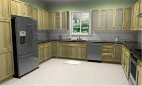 example of u shape kitchen design with lowe s virtual kitchen design
