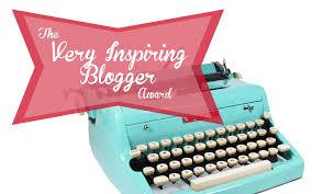 Resultado de imagen de very inspiring blogger award