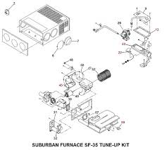 suburban furnace model sf 35 tune up kit price 115 37 price 74 42