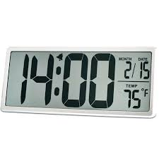 night vision digital wall clock extra large vision digital wall clock jumbo digital alarm clock display alarm snooze wall clocks hobby lobby