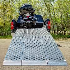 Big Boy EZ Rizer Aluminum Tri-Fold 3-Piece Motorcycle Ramp | Indian ...