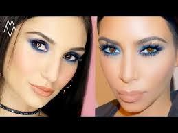 kim kardashian blue eye inspired makeup giveaway 10 παλέτες erre due you