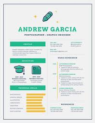 White Green And Yellow Infographic Resume Templates By Canva