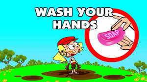 kids song wash your hands funny animated children s cartoon by pre popstars kid songs