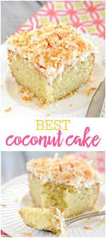 Best Coconut Cake Recipe Lil Luna
