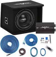 Buy Skar Audio Single 10 Complete 1, 200 Watt Sdr Series Subwoofer Bass  Package - Includes Loaded Enclosure with Amplifier Online in Tunisia.  B07YLBMSSM