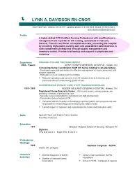 Sample Nursing Objectives For Resumes Dew Drops