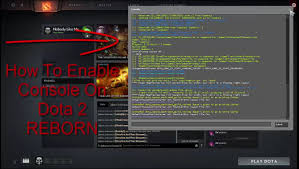 how to enable console on dota 2 reborn dota 2 reborn console