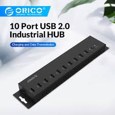 <b>ORICO</b> IH10/<b>20</b>/30P/30U <b>Ports USB 2.0</b> Industrial HUB With 12V5A ...