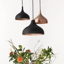 vienna 30 medium pendant lamp black copper