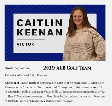 Multi-sport Monster: Caitlin Keenan (2022 Victor) 2019 AGR Golf ...