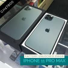 iSHOP Ghana - Brand New iPhone 11 Pro Max 256gb Midnight...