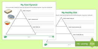 Blank Pyramid Diagram Healthy Eating Blank Food Pyramid