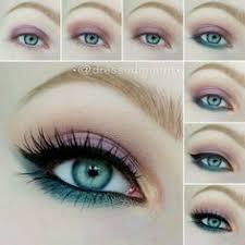 eye catching pink makeup for blue eyes eyemakeuphowtodo