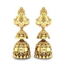 Gold Jhumka Designs For Bridal Shop Trendy Designs Of Bridal Jhumka Online Kalyan
