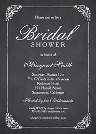 Bridal Shower Invitation Templates Unique Chalkboard Bridal Shower Invitation Kinderhooktap