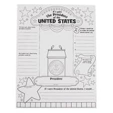 fall themed blank writing pages pumpkins leaves leaves color your own if i were president poster orientaltrading com