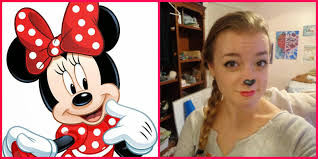 minnie mouse makeup tutorial hi ya for the last post in my last minute look i wanted to show you a quick makeup look that is really simple and