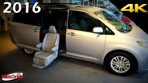 2016 Toyota Sienna XLE Auto Access Seat AAS Mobility - Ultimate In ...