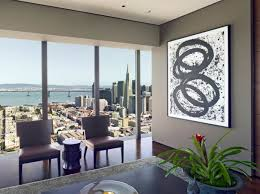 living rooms with black furniture. View In Gallery Black And White Artwork A Taupe Living Room Rooms With Furniture
