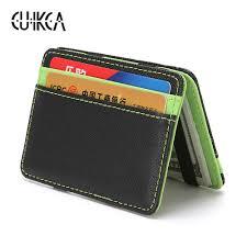 <b>CUIKCA</b> Korean Version <b>Unisex Magic Wallet</b> Money Clips Women ...