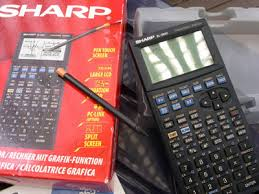 sharp graphing calculator. 2003: first graphing calculator with touch functionality sharp 0