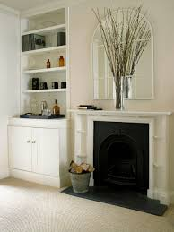 Wall Color For Living Room Tv Alcove Cupboard And Shelves Above Shows How Good It Can Look