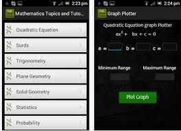 complete mathematics app covers basic and high school maths with many options to easily learn mathematics with a maths solver