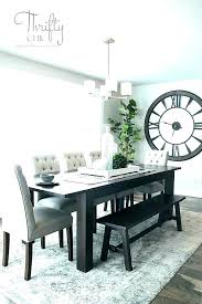perfect dining table rug under size should you put a room what best for ikea over